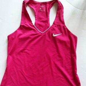 Nike Women's Racer  Back Yoga Athletic Top